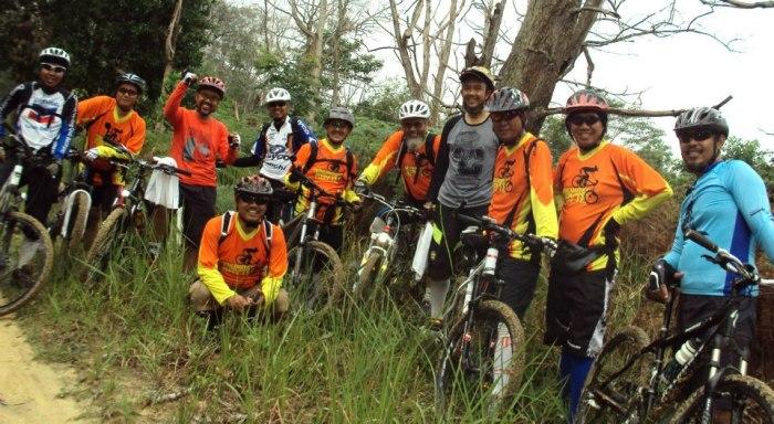 Nggaya di Hutan Lindung Rumbai 12 Nov 2012