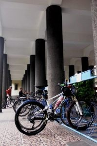 Stasiun Sepeda UGM (foto by: Mas Afif)