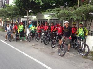 Siap Berangkat dari Apotik Kentungan Simpang Jakal Ringroad Utara (Foto by: Mas Mayong)