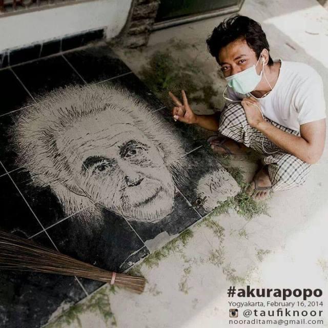 Kreatif dengan Abu